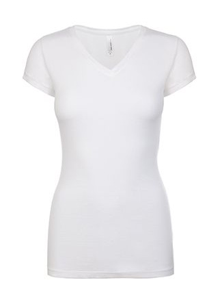 next-level-ladies-v-neck-white