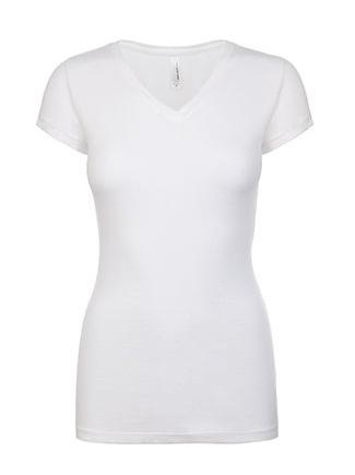 next-level-ladies-v-neck-white